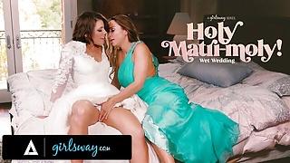 GIRLSWAY Abigail Mac Made Bride Adriana Chechik Squirt A Lot