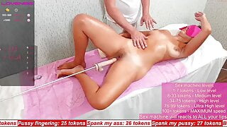 Spank sex torture wife